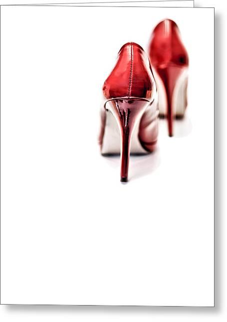 More Red Hot Seduction Greeting Card by Bob Daalder