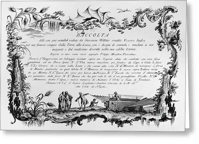 1768 Greeting Cards - Morghen: Raccolta, 1768 Greeting Card by Granger