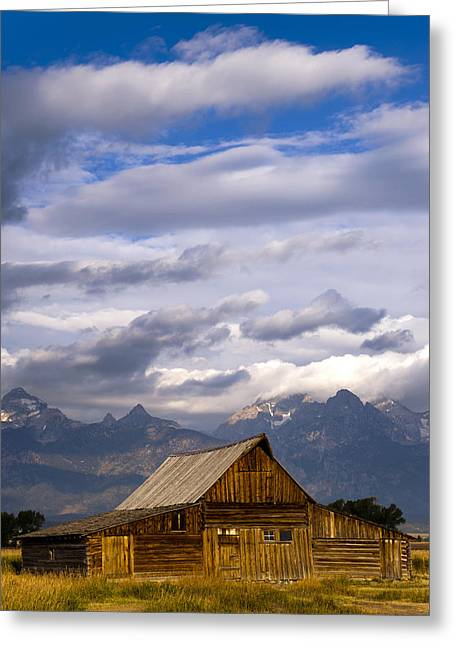 Mormon Greeting Cards - Mormon Barn Morning Greeting Card by Joseph Rossbach