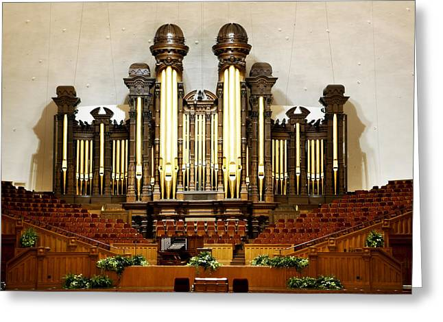 Mormon Tabernacle Greeting Cards - Mormon Tabernacle Greeting Card by Marilyn Hunt