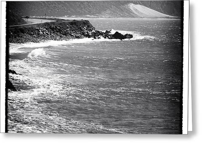 Morning Along the Coast Greeting Card by John Rizzuto