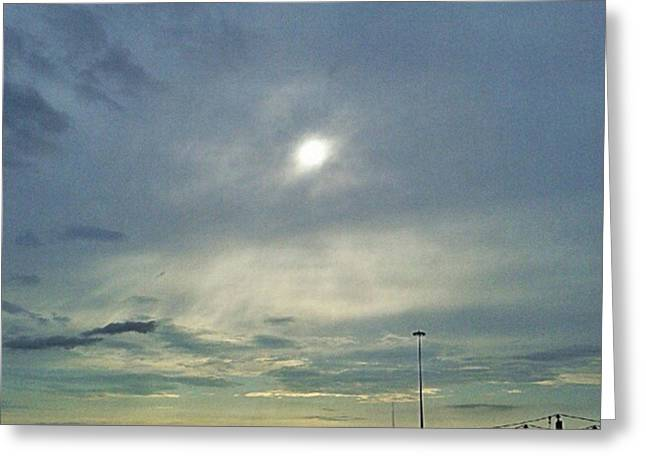 #morning #andrography #nexuss #clouds Greeting Card by Kel Hill