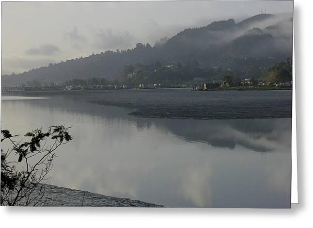 Morning fog Greeting Card by Vari Buendia