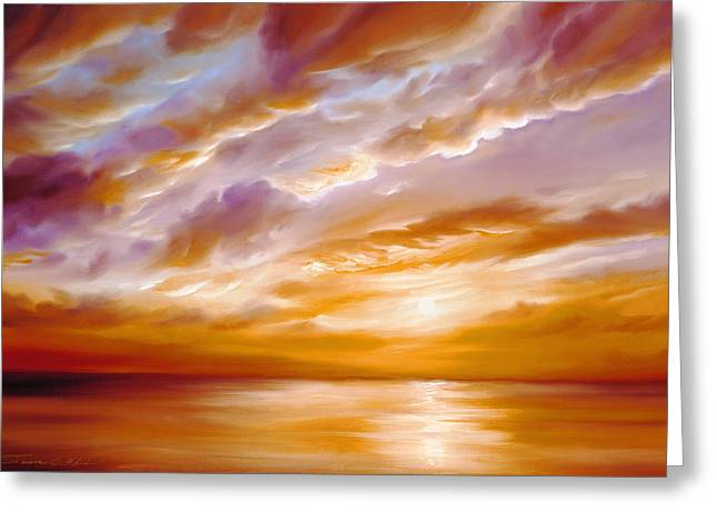 James Christopher Hill Greeting Cards - Morning Grace Greeting Card by James Christopher Hill
