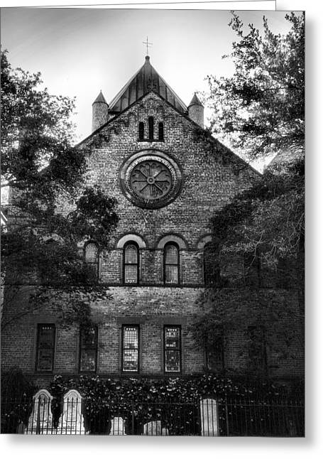Church Framed Prints Greeting Cards - Morning in the Churchyard  Greeting Card by Steven Ainsworth