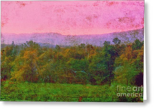 Morning In The Mountains Greeting Card by Judi Bagwell