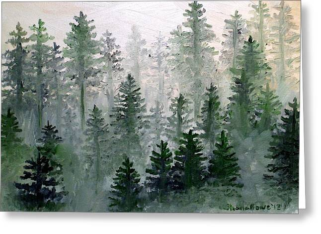 Morning In The Mountains Greeting Card by Shana Rowe Jackson