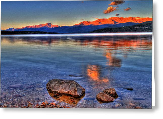 Leadville Greeting Cards - Morning Light Greeting Card by Scott Mahon
