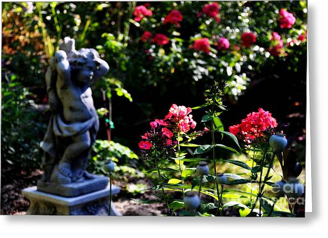 Garden Statuary Greeting Cards - Morning Light Greeting Card by Tanya  Searcy