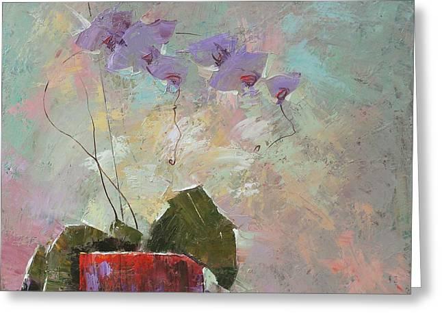 The Flower Of Life Greeting Cards - Morning metamorphosis  Greeting Card by Anastasija Kraineva
