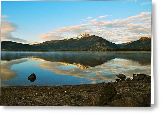 Bob Berwyn Greeting Cards - Morning reflections Greeting Card by Bob Berwyn