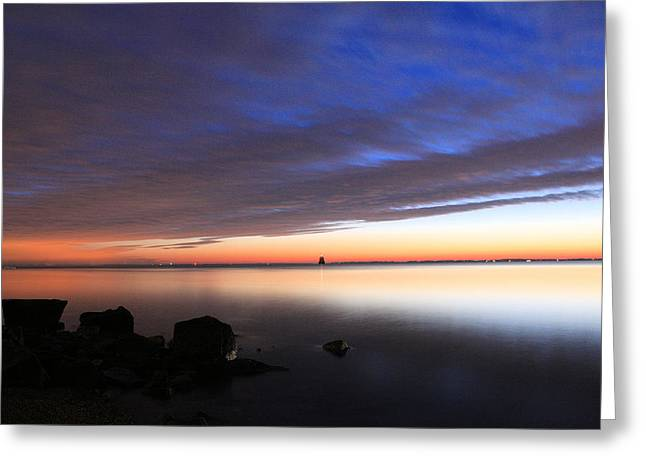 Delmarva Greeting Cards - Morning Splendor  Greeting Card by JC Findley