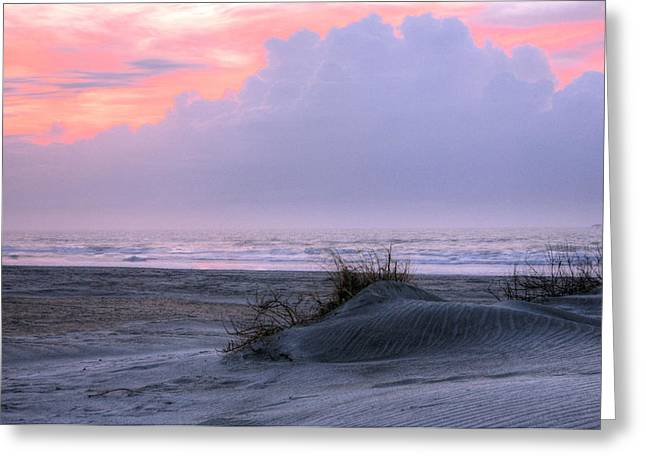 Wrightsville Beach Greeting Cards - Morning Thunder Greeting Card by JC Findley