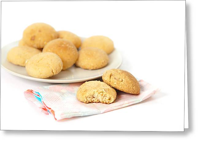 After Dinner Greeting Cards - Moroccan biscuits Greeting Card by Tom Gowanlock