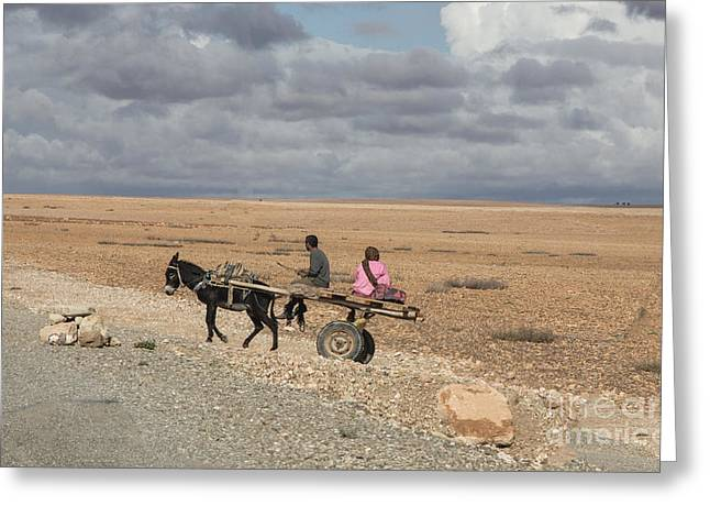 Morocco Transportation Greeting Card by Chuck Kuhn