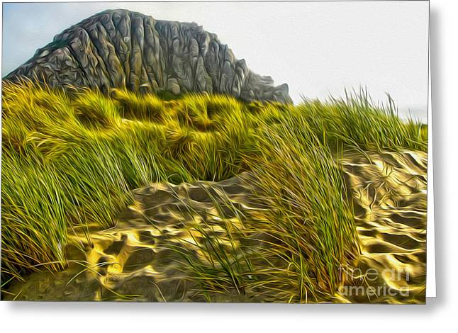 Morro Bay  Greeting Card by Gregory Dyer