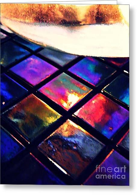 Raw Photography Greeting Cards - Mosaic 2 Greeting Card by Sarah Loft