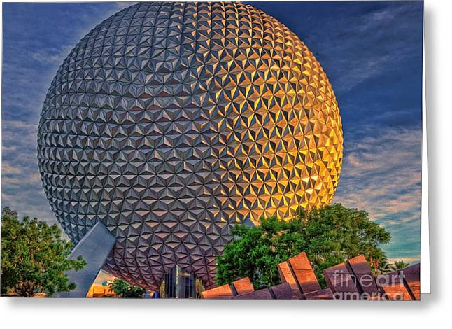 Epcot Greeting Cards - Mother Earth Greeting Card by Arnie Goldstein
