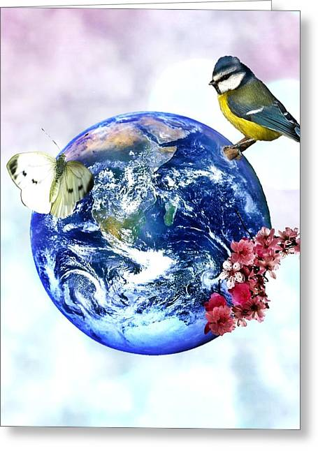 Mother Earth Greeting Cards - Mother Earth Greeting Card by Sharon Lisa Clarke