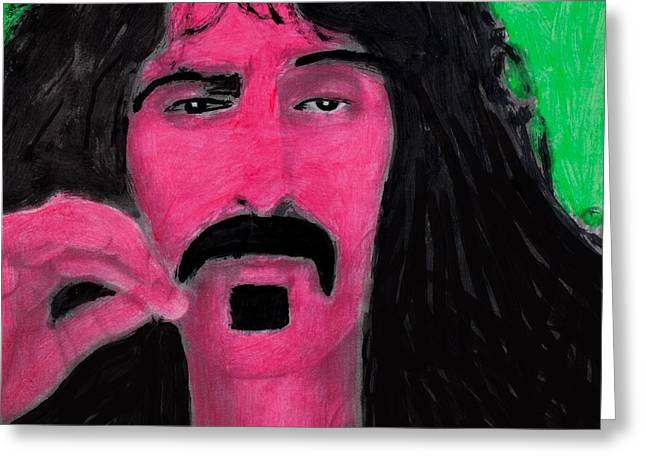 Frank Zappa Greeting Cards - Mother of Invention Greeting Card by Frank Strasser