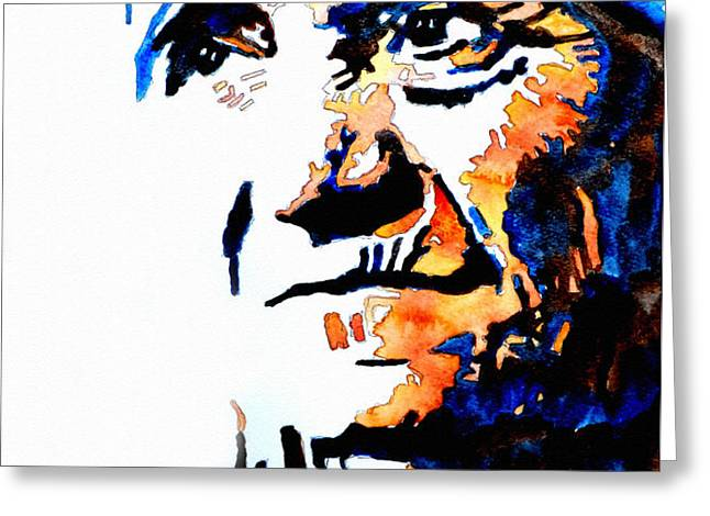 Mother Teresa Greeting Card by Steven Ponsford
