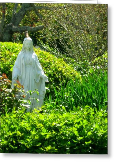 Virgin Mary Greeting Cards - Mother To All Greeting Card by Bruce Carpenter