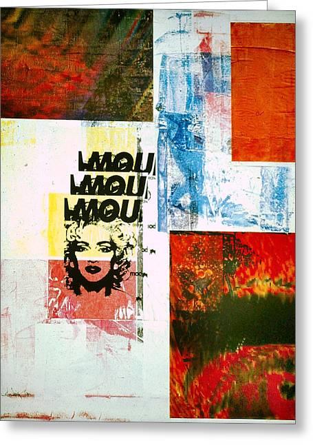 MOU Greeting Card by David Deak