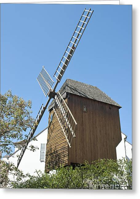 Rue Lepic Greeting Cards - Moulin du Radet Greeting Card by Fabrizio Ruggeri