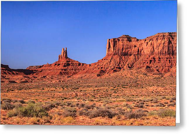 The Plateaus Greeting Cards - Mounment Valley Greeting Card by Robert Bales