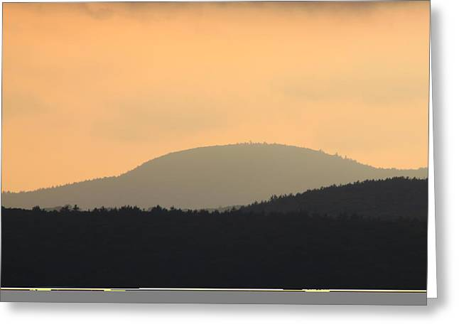 Warwick Greeting Cards - Mount Grace Warwick MA Greeting Card by John Burk
