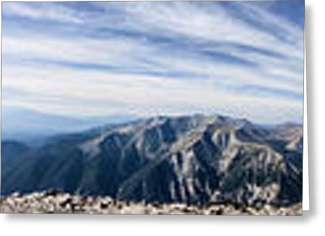 Arkansas Greeting Cards - Mount Princeton Summit View 360 Greeting Card by Scotts Scapes