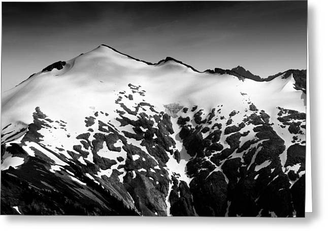 Mt Greeting Cards - Mount Ruth in the Washington Cascade Mountains Greeting Card by Brendan Reals