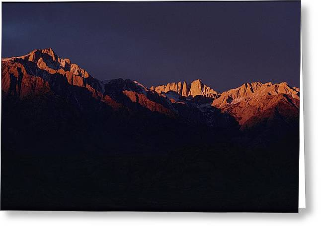 Mount Whitney Greeting Cards - Mount Whitney, The Most Climbed Greeting Card by Michael Nichols
