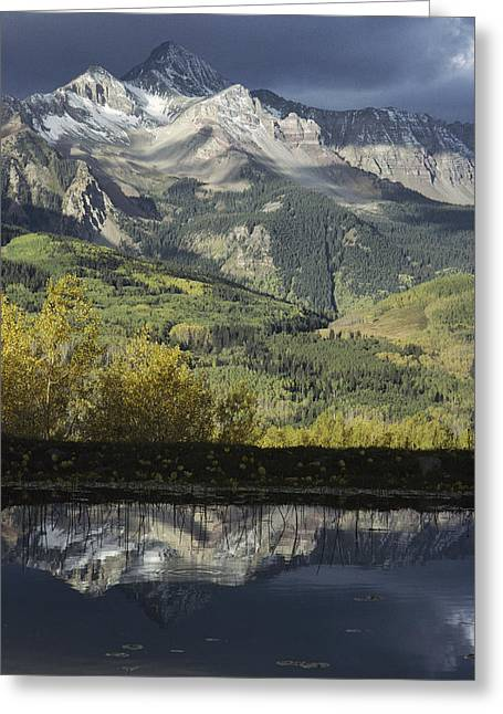 Mount Wilson Greeting Cards - Mount Wilson And The San Juan Mountains Greeting Card by Gordon Wiltsie