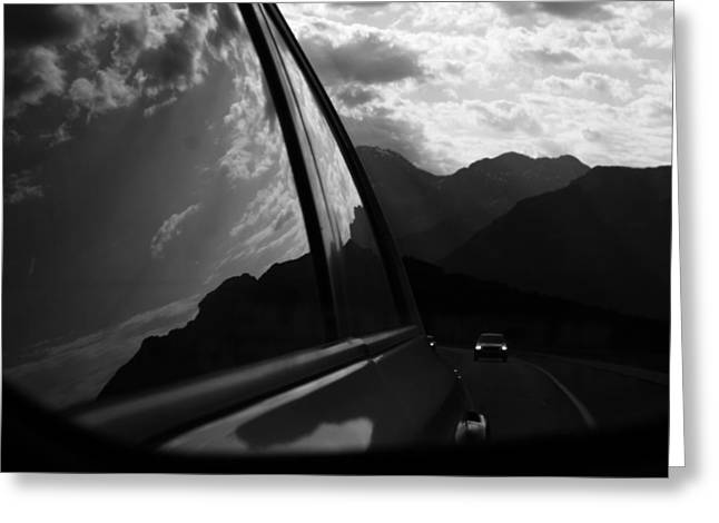 Street Photographer Photographs Greeting Cards - Mountain Drive  Greeting Card by Jerry Cordeiro