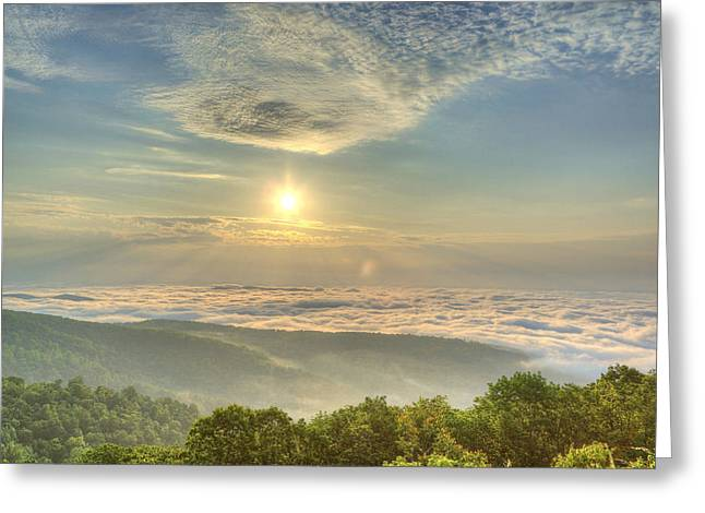 Mountain Islands Greeting Card by Metro DC Photography