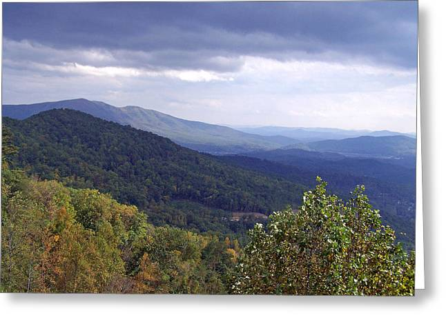 Patricia Taylor Greeting Cards - Mountain Landscape Greeting Card by Patricia Taylor