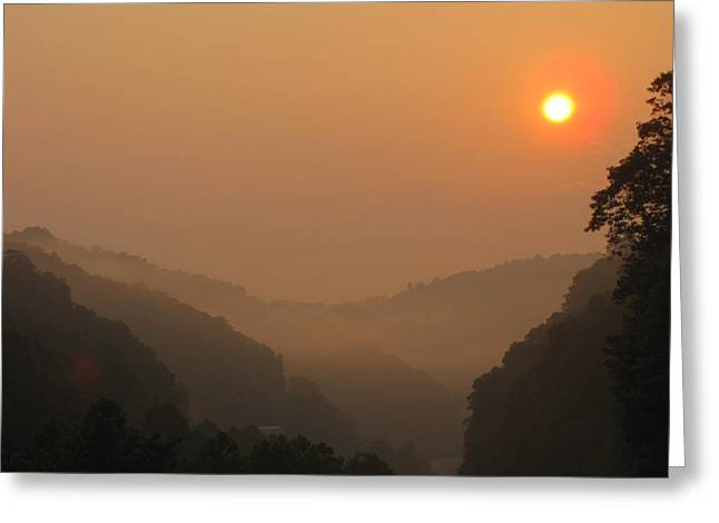 Shane Brumfield Greeting Cards - Mountain Sunrise 3 Greeting Card by Shane Brumfield