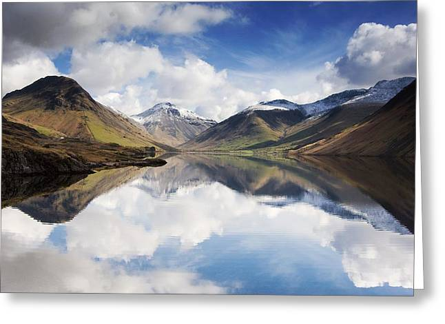 Design Pics - Greeting Cards - Mountains And Lake, Lake District Greeting Card by John Short