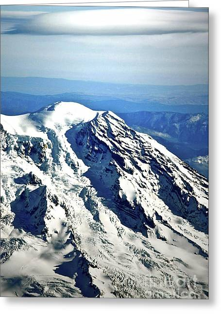 Mountaintop Greeting Cards - Mountaintop Of Our Desires Greeting Card by Gwyn Newcombe