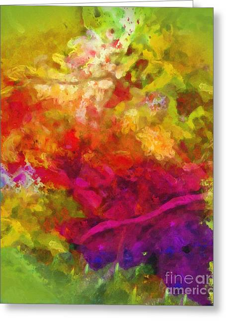 Moving Colors Greeting Cards - Moving Color Greeting Card by Lutz Baar