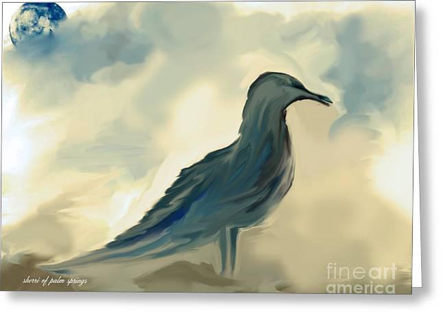 Mr. Jonathon Seagull Of La Jolla California Greeting Card by Sherri  Of Palm Springs
