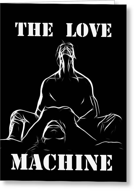 White Maiden Greeting Cards - Mr Lover Lover Greeting Card by Stefan Kuhn