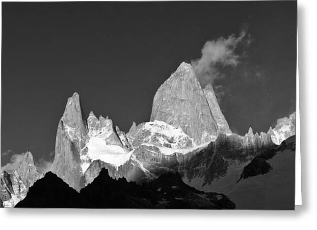 Marko Greeting Cards - Mt. Fitzroy Greeting Card by Marko Moudrak