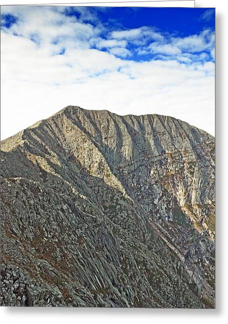 Baxter Park Greeting Cards - Mt. Katahdin Baxter State Park Maine Greeting Card by Brendan Reals