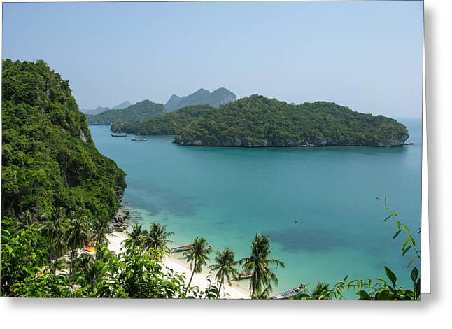 Mu Ko Ang Thong Marine National Park Greeting Card by Nawarat Namphon