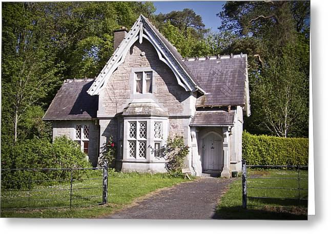 Gabled Greeting Cards - Muckross Cottage Killarney Ireland Greeting Card by Teresa Mucha
