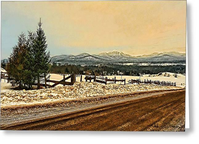 Mud Season Greeting Cards - Mud Season Greeting Card by John Selmer Sr