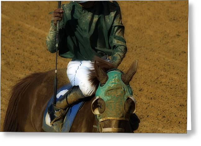 Mud Sweat And Tears  Greeting Card by Steven  Digman