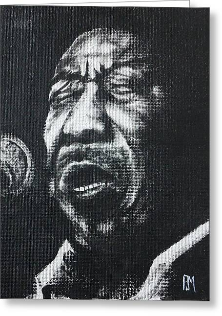 Muddy Waters Greeting Cards - Muddy Greeting Card by Pete Maier